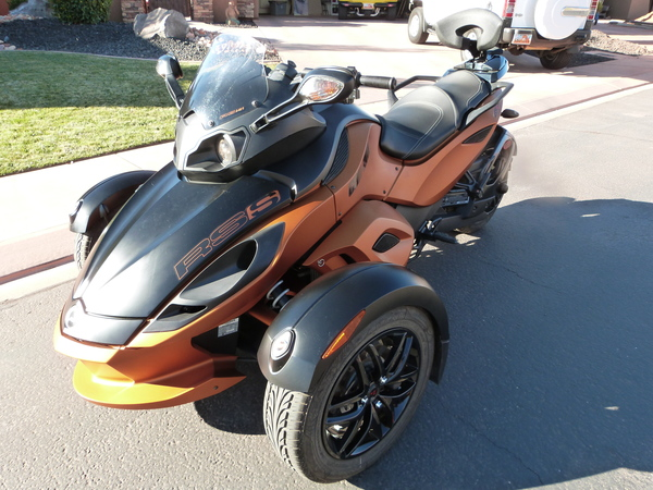 Used 2011 Can-Am Spyder RS for Sale in Saint George, UT ...