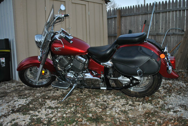 Used 2007 yamaha v star 650 classic for sale in batesville for Kelley blue book motorcycles yamaha