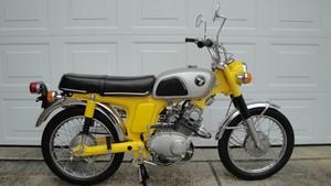 1969 Honda Scrmblr 175 K0