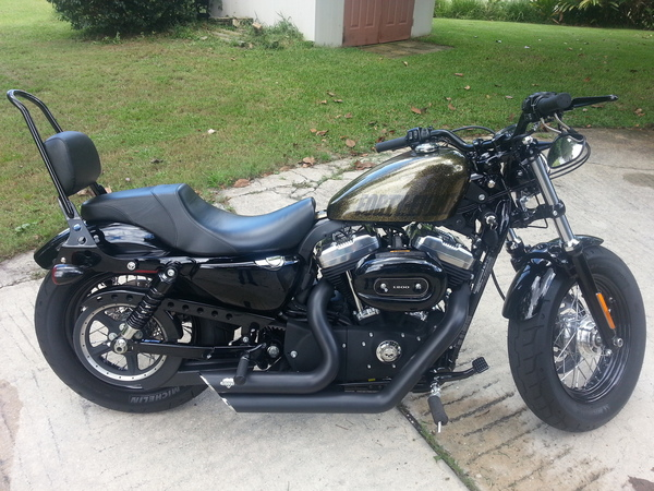 used 2013 harley davidson forty eight for sale in apopka fl 32824. Black Bedroom Furniture Sets. Home Design Ideas
