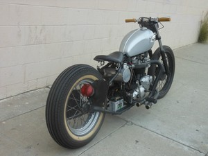 ... this motorcycle full custom triumph rigid bobber 1970 triumph t120