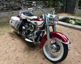 1960 Harley-Davidson A Topper