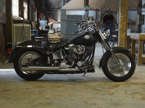 Sacramento Motorcycle Rental Used 1998 Harley-Davidson Fat Boy for Sale in Sacramento, CA - 1790