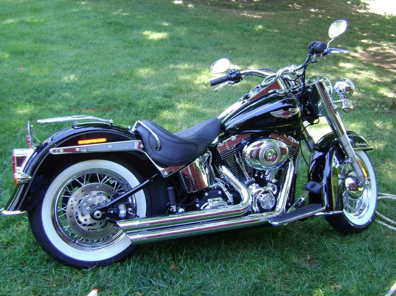 Used 2011 harley davidson softail deluxe for sale in for Harley davidson motor credit