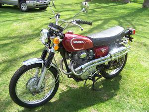 1973 Honda Scrmblr 350 K4