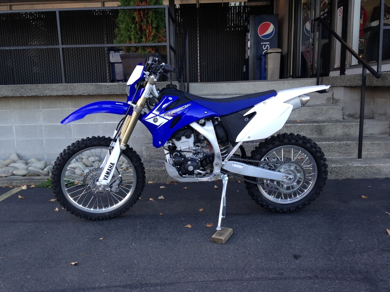 used 2013 yamaha wr250f for sale in seattle wa 48125