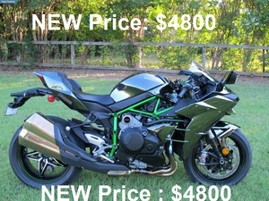 2015 Kawasaki Ninja H2 ABS