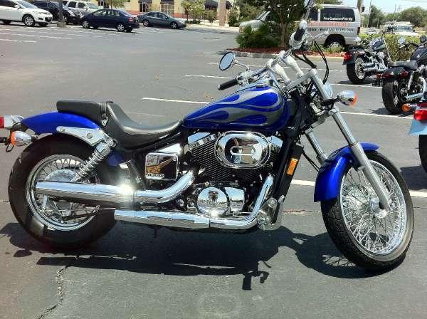 used 2005 honda motorcycles shadow spirit for sale in orlando, fl - 62