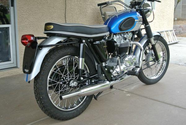 Used 1965 Triumph Bonneville Rd Spt for Sale in Houston, TX - 53264