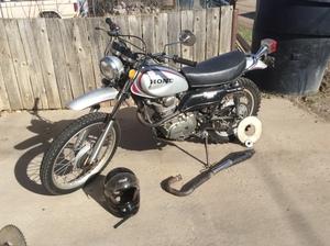 1972 Honda Motosport 250