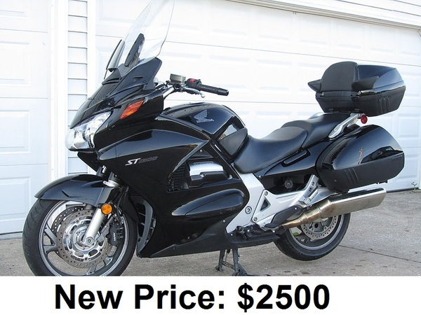used 2006 honda motorcycles st1300 for sale in san diego ca 54355. Black Bedroom Furniture Sets. Home Design Ideas