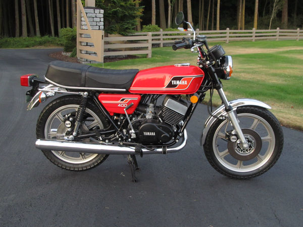 used 1977 yamaha rd400 for sale in eugene or 54633