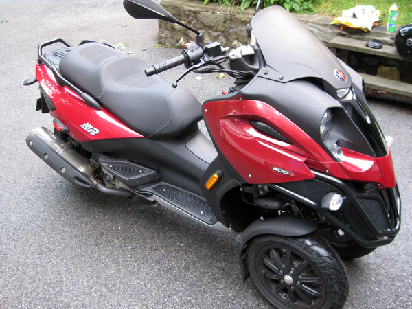 used 2009 piaggio mp3 500 for sale in brooklyn ny 54968. Black Bedroom Furniture Sets. Home Design Ideas