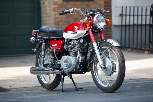Used 1970 honda motorcycles super sport 175 for sale in for Honda norwood ma
