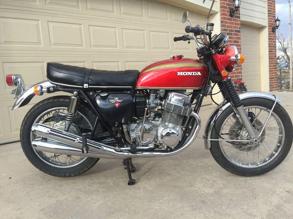 used 1971 honda motorcycles 750 four for sale in wichita ks 55851. Black Bedroom Furniture Sets. Home Design Ideas