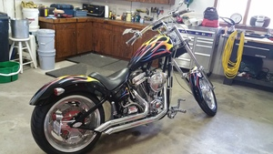 2004 Red horse Mustang Chopper 250s