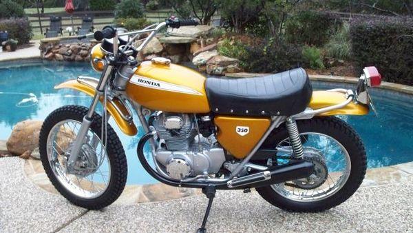 Used 1970 honda motorcycles sl350k0 k1 for sale in kansas for Honda motorcycle dealership kansas city