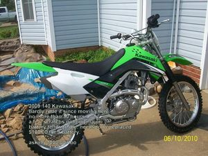 2009 Kawasaki KLX140