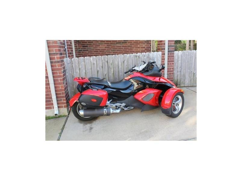 used 2008 can am spyder gs sm5 for sale in memphis tn 59658. Black Bedroom Furniture Sets. Home Design Ideas