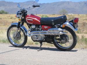 1972 Honda Scrambler 350
