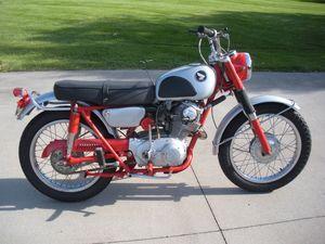 1964 Honda Scrambler 250