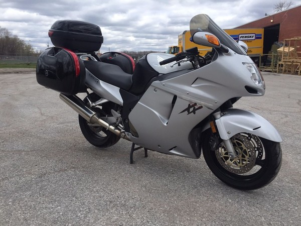 Used 2002 honda motorcycles cbr1100xx for sale in dallas for Honda motorcycle dealer dallas
