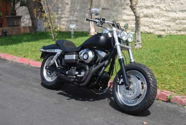 Used 2009 Harley Davidson Dyna Fat Bob For Sale In San Francisco Ca 222