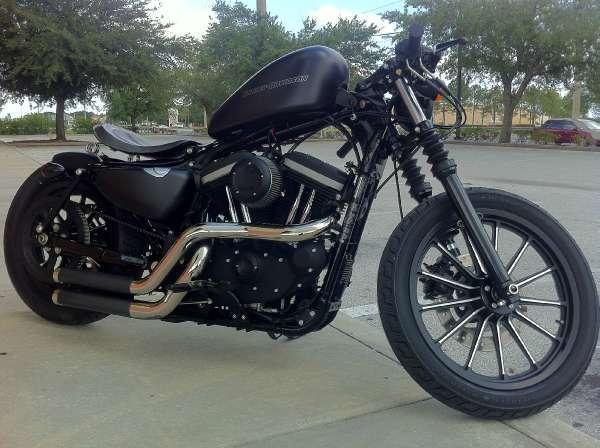 Harley-Davidson Iron 883   Motorcycle Wallpaper