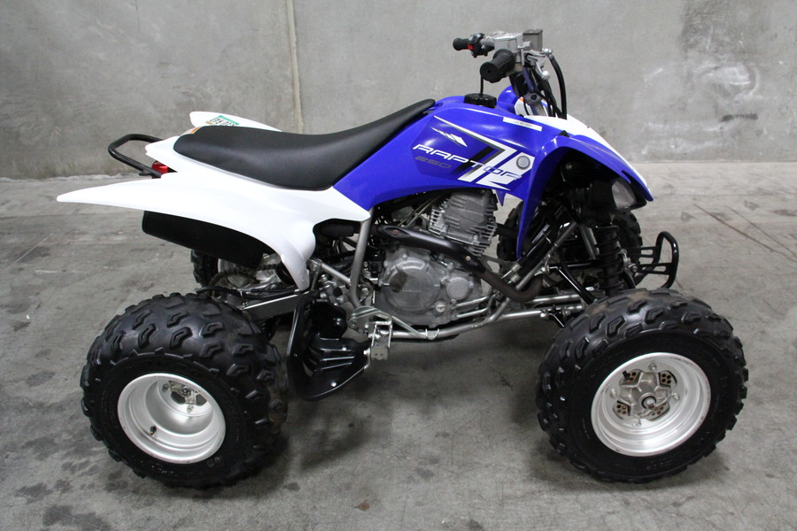 Used 2013 yamaha raptor 250 for sale in los angeles ca for Kbb atv yamaha
