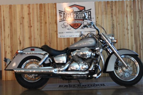 used 2005 honda motorcycles shadow aero for sale in las vegas nv 121666. Black Bedroom Furniture Sets. Home Design Ideas
