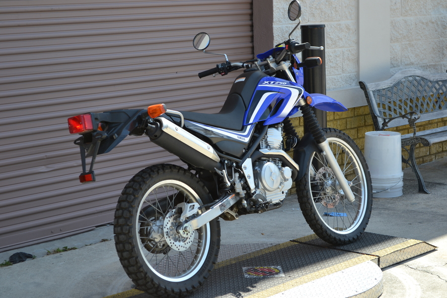 used 2014 yamaha xt250 for sale in orlando fl 131374