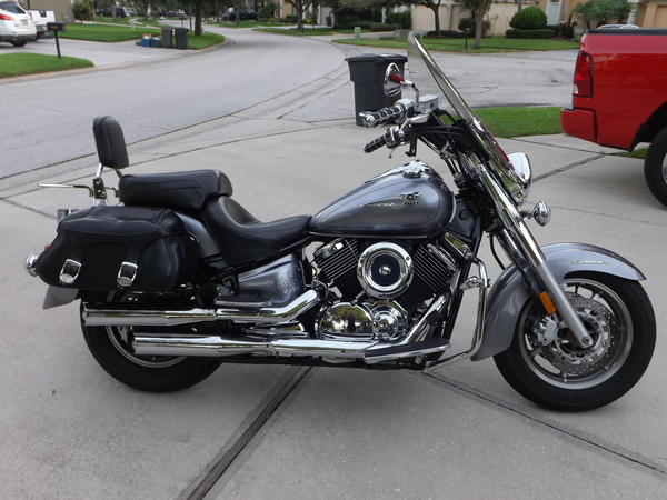 Used 2007 yamaha v star 1100 silverado for sale in lithia for Kelley blue book motorcycles yamaha