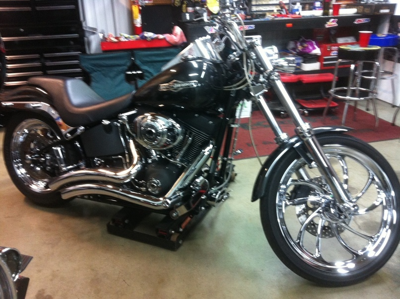 How Much Does A Harley Davidson Softail Weigh