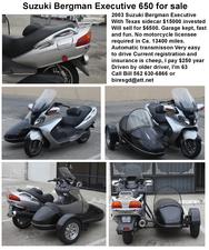 2003 Suzuki Burgman 650