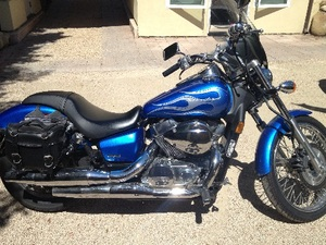 2008 Honda Shadow Spirit C2
