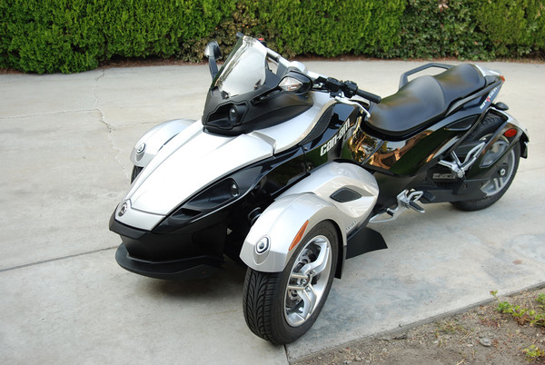 Arcadia Motorcycle Company: Used 2008 Can-Am Spyder GS SE5 For Sale In Arcadia, CA