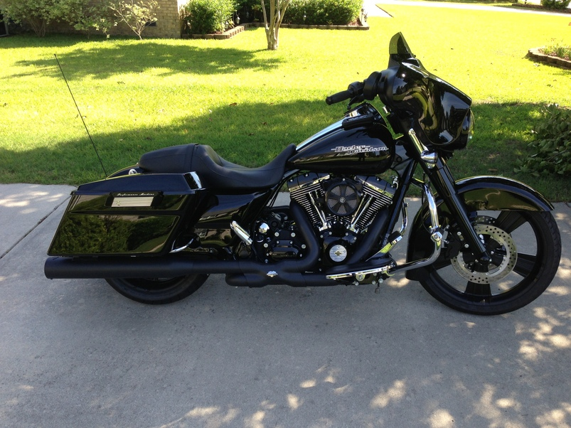 Blacked Out Street Glide For Salehtml Autos Post