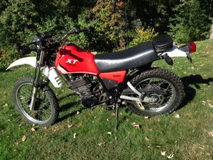 1982 Yamaha XT250