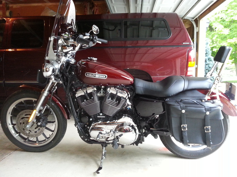 Used 2008 harley davidson sportster low for sale in columbus oh