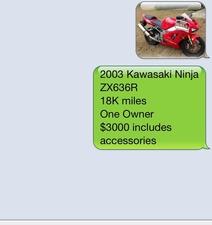 2003 Kawasaki Ninja ZX-6R