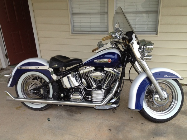 Goodson Air Cleaner : Softail deluxe for sale